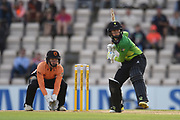 Fran Wilson of Western Storm batting during the Women's Cricket Super League match between Southern Vipers and Western Storm at the Ageas Bowl, Southampton, United Kingdom on 11 August 2019.