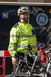 City of London cycle police on patrol