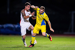 Matic Crnic of NK Domzale during football match between NK Domzale and FC Lusitanos Andorra in second leg of UEFA Europa league qualifications on July 7, 2016 in Andorra la Vella, Andorra. Photo by Ziga Zupan / Sportida