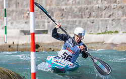 Kragelj Ursa (KK Soske elektrarne / Slovena) during ICF Canoe Slalom Ranking Race Tacen 2018, on April 8, 2018 in Ljubljana, Slovenia. Photo by Urban Meglic / Sportida