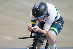 March 2, 2019 - Pruszkow, Poland - Kaarle Mcculloch (AUS) competes on day four of the UCI Track Cycling World Championships held in the BGZ BNP Paribas Velodrome Arena on March 02 2019 in Pruszkow, Poland. (Credit Image: © Foto Olimpik/NurPhoto via ZUMA Press)