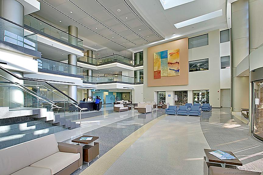 Interior design image of Virginia Hosptital Center in Arlington, VA by Architectural Photographer Jeffrey Sauers of Commercial Photographics