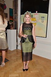 HANNAH ARTERTON at the annual Royal Academy of Art Summer Party held at Burlington House, Piccadilly, London on 4th June 2014.