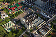 Nederland, Zuid-Holland, Zoeterwoude, 15-07-2012; Zoeterwoude-Rijndijk, Heineken brouwerij.Beer brewery Heineken, storage and beer crates..luchtfoto (toeslag), aerial photo (additional fee required).foto/photo Siebe Swart