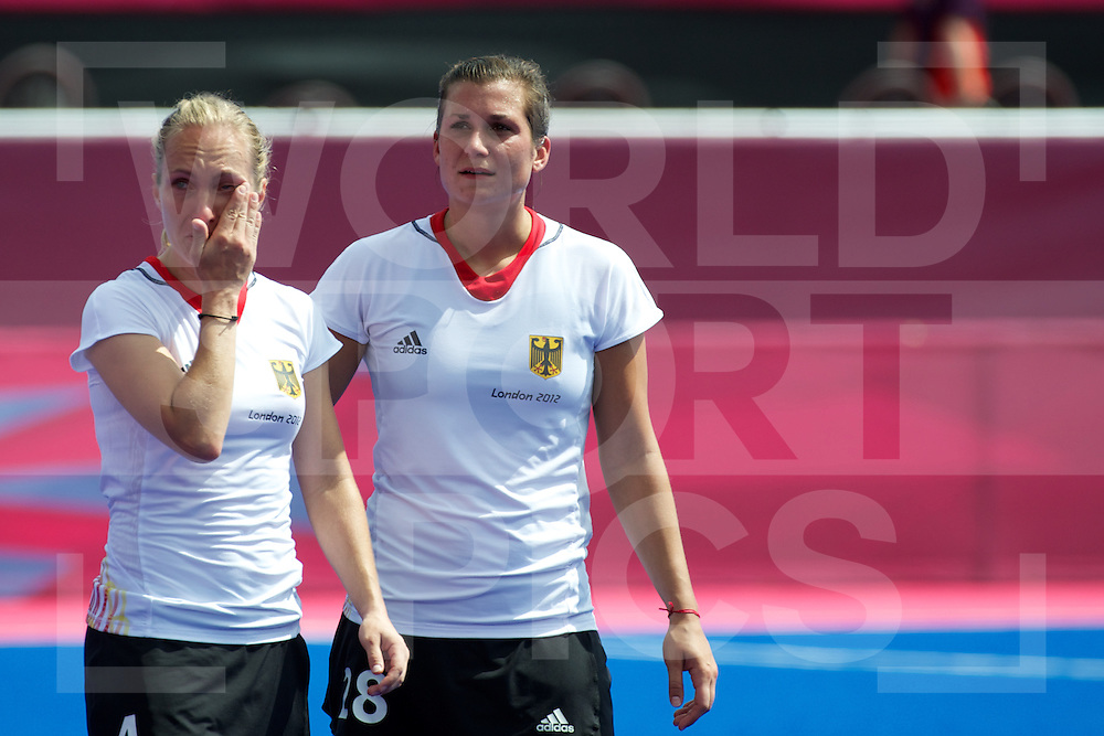 Olympics 2012, hockey, Mandy Haase and Julia Mueller