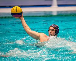 21-01-2012 WATERPOLO: EC NETHERLANDS - TURKEY: EINDHOVEN<br /> European Championships Netherlands - Turkey / Yoran Frauenfelder<br /> (c)2012-FotoHoogendoorn.nl / Peter Schalk