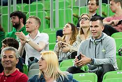 Sani Becirovic during basketball match between KK Union Olimpija and KK Tajfun in Quarterfinals of 1st Nova KBM Slovenian Champions League 2015/16, on May 12, 2016, in Arena Stozice, Ljubljana, Slovenia. Photo by Vid Ponikvar / Sportida