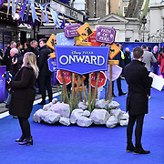 Arrivers at UK Premiere of Onward at Curzon Street, Mayfair, on 23th February 2020, London, UK.