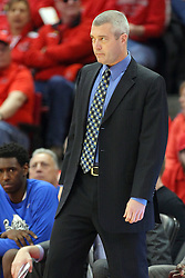 17 February 2016: Greg Lansing during the Illinois State Redbirds v Indiana State Sycamores at Redbird Arena in Normal Illinois (Photo by Alan Look)