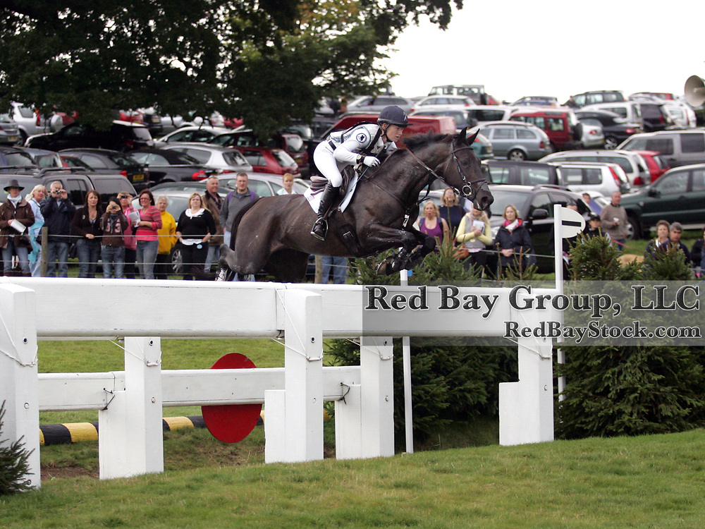 Jennifer Wooten (USA) and The Good Witch at the 2011 Land Rover Burghley Horse Trials in Stamford, UK.