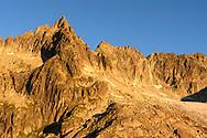 Das Gross Furkahorn und das Sidelenhorn im ersten Sonnenlicht, Furka, Uri, Schweiz<br /> <br /> The Gross Furkahorn and the Sidelenhorn in the first light , Furka, Uri, Switzerland