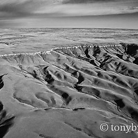 kevin rim site for new wind farm conservation photography - blackfeet oil