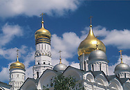 Church Cupolas in the Kremlin<br /> Moscow, Russia