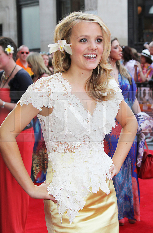 © Licensed to London News Pictures. 01/07/2013. London, UK. Laura Aikman at the Bula Quo UK film premiere, Odeon West End cinema Leicester Square, London. Photo credit: Richard Goldschmidt/LNP