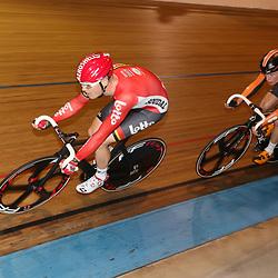 20-12-2015: Wielrennen: NK Baan: Alkmaar<br />ALKMAAR (NED) baanwielrennen<br /> Pim Ligthart werd tweede in de puntenkoers