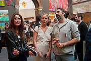 SOPHIA GREENE; KEITH TYSON, Royal Academy of Arts Summer Exhibition Preview Party 2011. Royal Academy. Piccadilly. London. 2 June <br /> <br />  , -DO NOT ARCHIVE-© Copyright Photograph by Dafydd Jones. 248 Clapham Rd. London SW9 0PZ. Tel 0207 820 0771. www.dafjones.com.