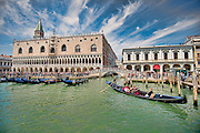 Doges Palace, Venice, Italy.