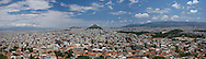 A panoramic view of Athens, Greece