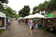 Local Markets. Festival Stock Images. 2012 Ironman Cairns Triathlon. Cairns, Queensland, Australia. 2/06/2012. Photo By Lucas Wroe.