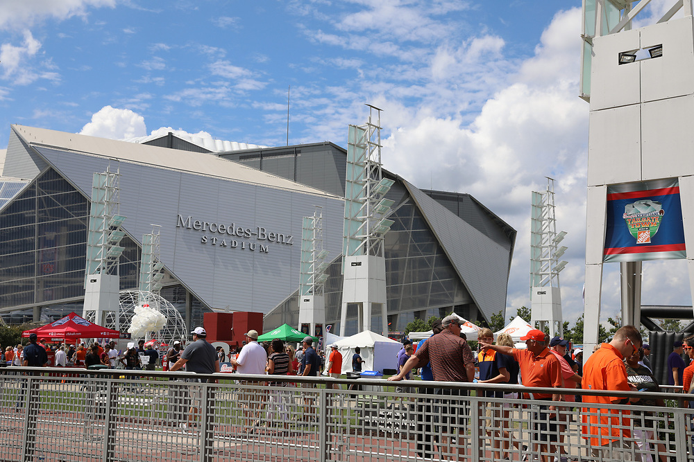 General images from Tailgate Town prior to the Chick-fil-A Kickoff Game between the Auburn Tigers and the Washington Huskies at Mercedes-Benz Stadium, Saturday, September 1, 2018, in Atlanta. Auburn won 21-16. (Enka Lawson via Abell Images for Chick-fil-A Kickoff)