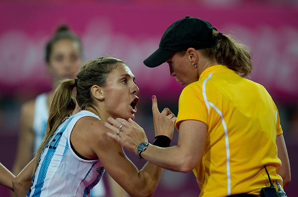 London Olympics 10/08/2012.Womens Hockey Gold Medal Match .Argentina v Netherlands ....Photo: Grant Treeby