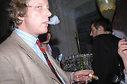 Ranald Macdonald yr of Clanranald . The Tatler Restaurant Awards in association with  Louis Roederer champagne.  The Four Seasons Hotel, Hamilton Place, London. 10 January 2004. ONE TIME USE ONLY - DO NOT ARCHIVE  © Copyright Photograph by Dafydd Jones 66 Stockwell Park Rd. London SW9 0DA Tel 020 7733 0108 www.dafjones.com