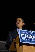 Philadelphia, PA - Senator Barack Obama speaks at Independence Mall in Philadelphia days before the Pennsylvania Primary