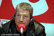 Roland Courbis à l OM CAFE à l occasion de l émission coach courbis sur RMC