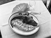 """""""The National Fish Cookery Award""""..29.04.1982..04.29.1982.29th April 1982.1982...This competition sponsored by Bord Iascaigh Mhara was held in The Clare Inn, Newmarket-on Fergus,Co Clare. the competition was open to schools across the country..""""Pineapple stuffed cod"""", the winning entry from Catherine O'Sullivan,(15),Vocational School, Rathdowney,Co Laois"""