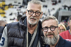 May 28, 2019 - Turin, italy - Torino.Allianz Stadium: The game of the Heart in the picture: Stefano Tacconi Marco Masini (Credit Image: © Riccardo Giordano/IPA via ZUMA Press)