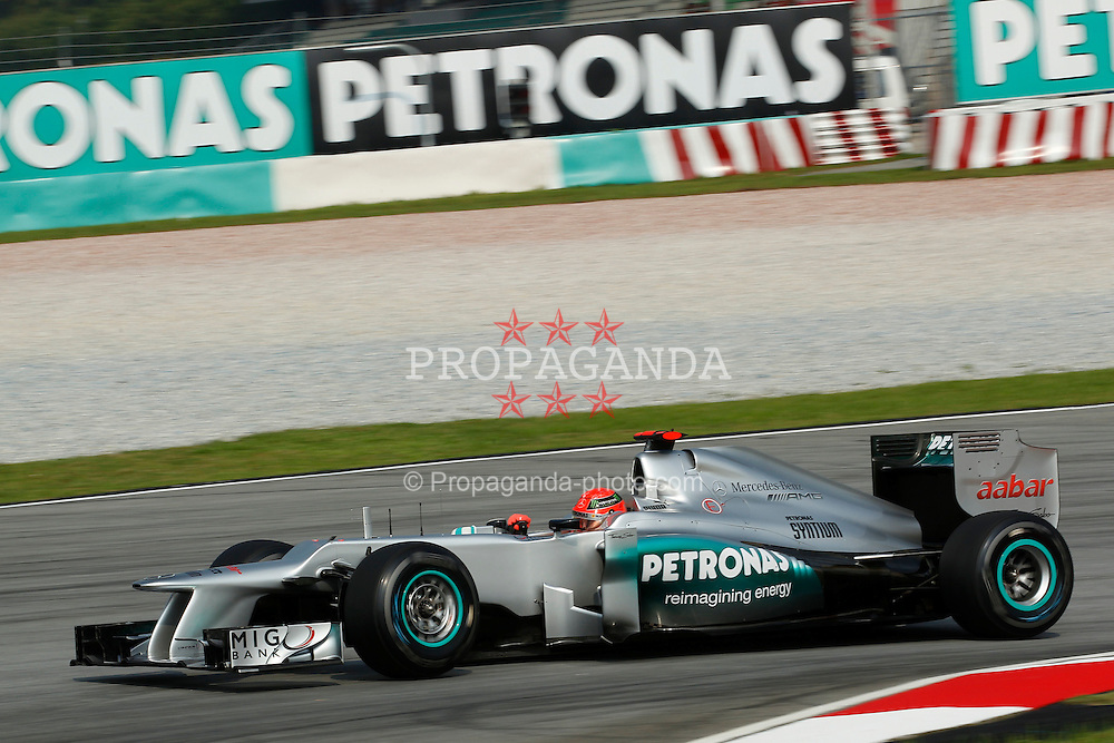 Motorsports: FIA Formula One World Championship 2012, Grand Prix of Malaysia, .#7 Michael Schumacher (GER, Mercedes AMG Petronas F1 Team),