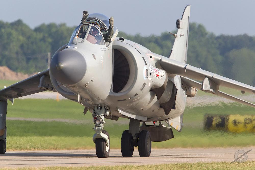 Art Nalls Sea Harrier