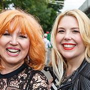 NLD/Amsterdam/20150712 - AFW2015 Summer, Yvonne Keeley en dochter Roxy Paay