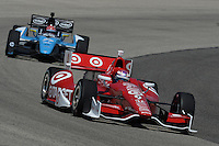 Scott Dixon, Milwaukee IndyFest, Milwaukee Mile, West Allis, WI USA 06/15/13