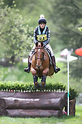 Sarah Wain riding Kroongraaf during the International Horse Trials at Chatsworth, Bakewell, United Kingdom on 11 May 2018. Picture by George Franks.