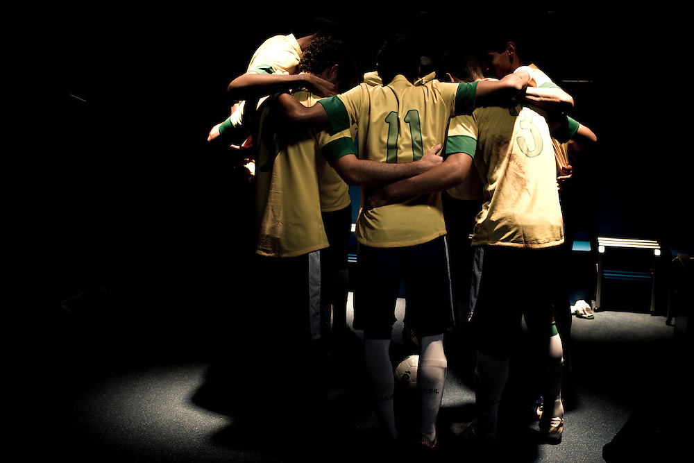 Sao Paulo, Brazil, Thursday - February 16, 2012: Neymar and Ganso, Brazilian football team players, during a Nike advertisement filmmaking in Sao Paulo - Brazil. (photo: Caio Guatelli)
