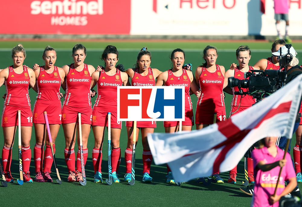New Zealand, Auckland - 23/11/17  <br /> Sentinel Homes Women&rsquo;s Hockey World League Final<br /> Harbour Hockey Stadium<br /> Copyrigth: Worldsportpics, Rodrigo Jaramillo<br /> Match ID: 10305 - USA vs ENG<br /> Photo: