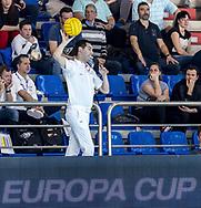 Colombo - Referee<br /> CRO - MNE  Croatia (white cap) Vs. Montenegro (Blue cap)<br /> LEN Europa Cup Men 2018 finals<br /> Water Polo, Pallanuoto<br /> Rijeka, CRO Croatia<br /> Day02<br /> Photo &copy; Giorgio Scala/Deepbluemedia/Insidefoto