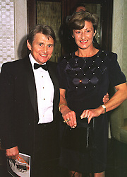 MR & MRS WILLIE CARSON he is the leading jockey, at a film premier on 26th August 1998.MJL 115