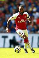 Alexandre Lacazette (A) at the FA Community Community Shield match, at Wembley Stadium, London, UK on August 6, 2017 <br /> <br /> Norway only