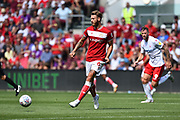 Nathan Baker (6) of Bristol City during the EFL Sky Bet Championship match between Bristol City and Nottingham Forest at Ashton Gate, Bristol, England on 4 August 2018. Picture by Graham Hunt.