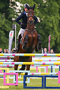 Toronto D'Aurois ridden by Arthur Duffort in the Equi-Trek CCI-4* Show Jumping during the Bramham International Horse Trials 2019 at Bramham Park, Bramham, United Kingdom on 9 June 2019.