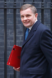 © licensed to London News Pictures. London, UK 21/01/2014. Welsh Secretary David Jones attending to a cabinet meeting on Downing Street on Tuesday, 21 January 2014. Photo credit: Tolga Akmen/LNP