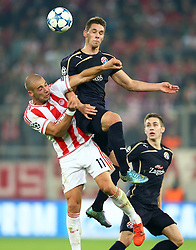 04.11.2015, Karaiskakis Stadium, Piraeus, GRE, UEFA CL, Olympiacos vs Dinamo Zagreb, Gruppe F, im Bild Pajtim Kasami // during UEFA Champions League group F match between Olympiacos and Dinamo Zagreb at the Karaiskakis Stadium in Piraeus, Greece on 2015/11/04. EXPA Pictures © 2015, PhotoCredit: EXPA/ Pixsell/ Slavko Midzor<br /> <br /> *****ATTENTION - for AUT, SLO, SUI, SWE, ITA, FRA only*****