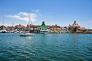Shops and Restaurants at Rainbow Harbor in Long Beach