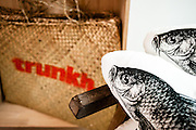 Chicken baskets and cat fish cushions from Trunkh