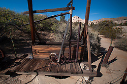 Wall Street Mill, Joshua Tree National Park, California, US
