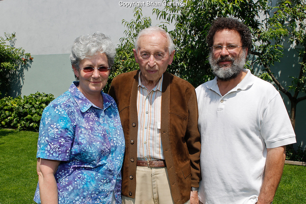 Mom, Palo, and Dad at Peter's house in Zilina, Slovakia on Thursday, July 7th 2011.  (Photo by Brian Garfinkel)