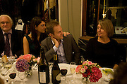 RUBY DANOWSKI; GUS DANOWSKI; MARY MOORE, Henry Moore Exhibition. Hauser and Wirth. 15 Old Bond St. and afterwards dinner at the Burlington arcade. 14 October 2008 *** Local Caption *** -DO NOT ARCHIVE -Copyright Photograph by Dafydd Jones. 248 Clapham Rd. London SW9 0PZ. Tel 0207 820 0771. www.dafjones.com