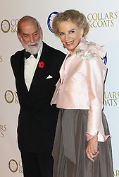 Prince and Princess Michael of Kent at the Battersea Dogs & Cats Home Collars & Coats Gala Ball in London, Thursday, 7th November 2013. Picture by Stephen Lock / i-Images